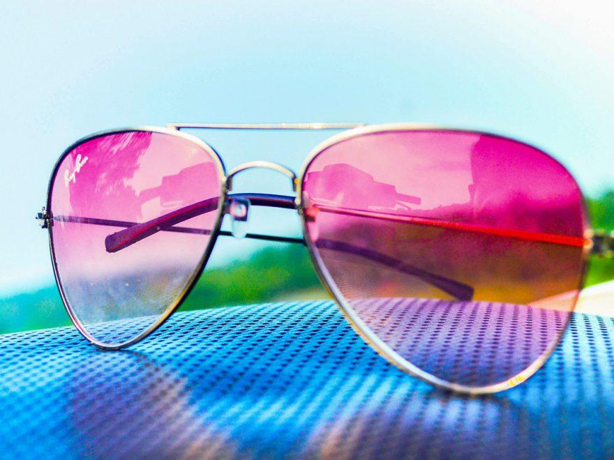Markowe okulary Ray-Ban